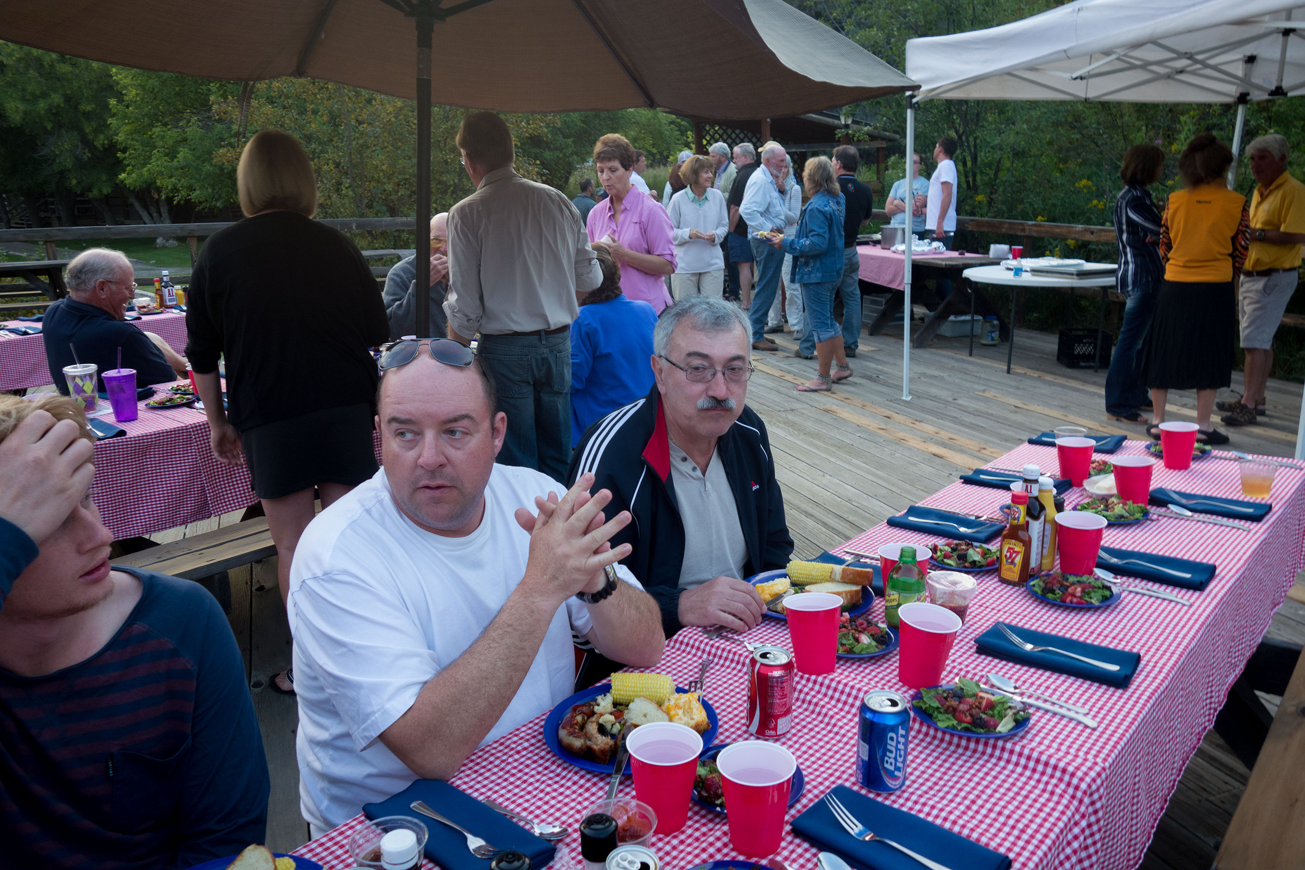 Our group joined the lodge guests for dinner as has become tradition for us each summer. A great way to cap off a tremendous couple of weeks of fishing.