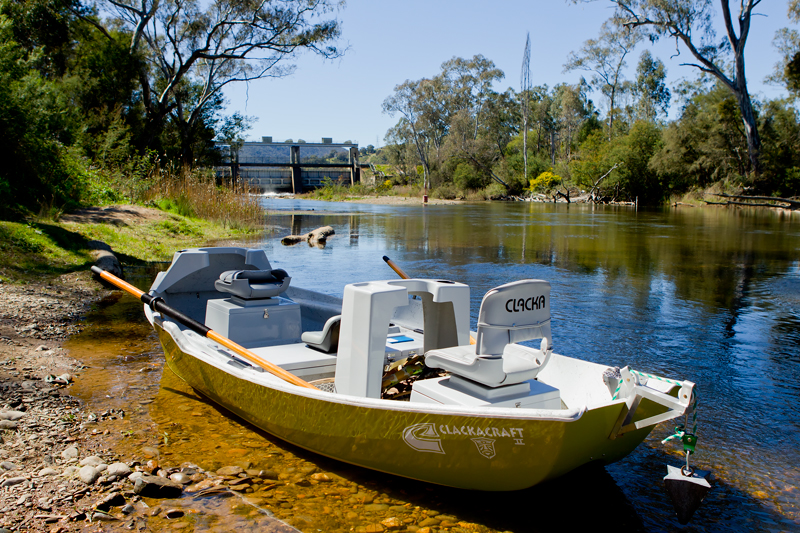 My drift boat......perfect for fishing the Goulburn River