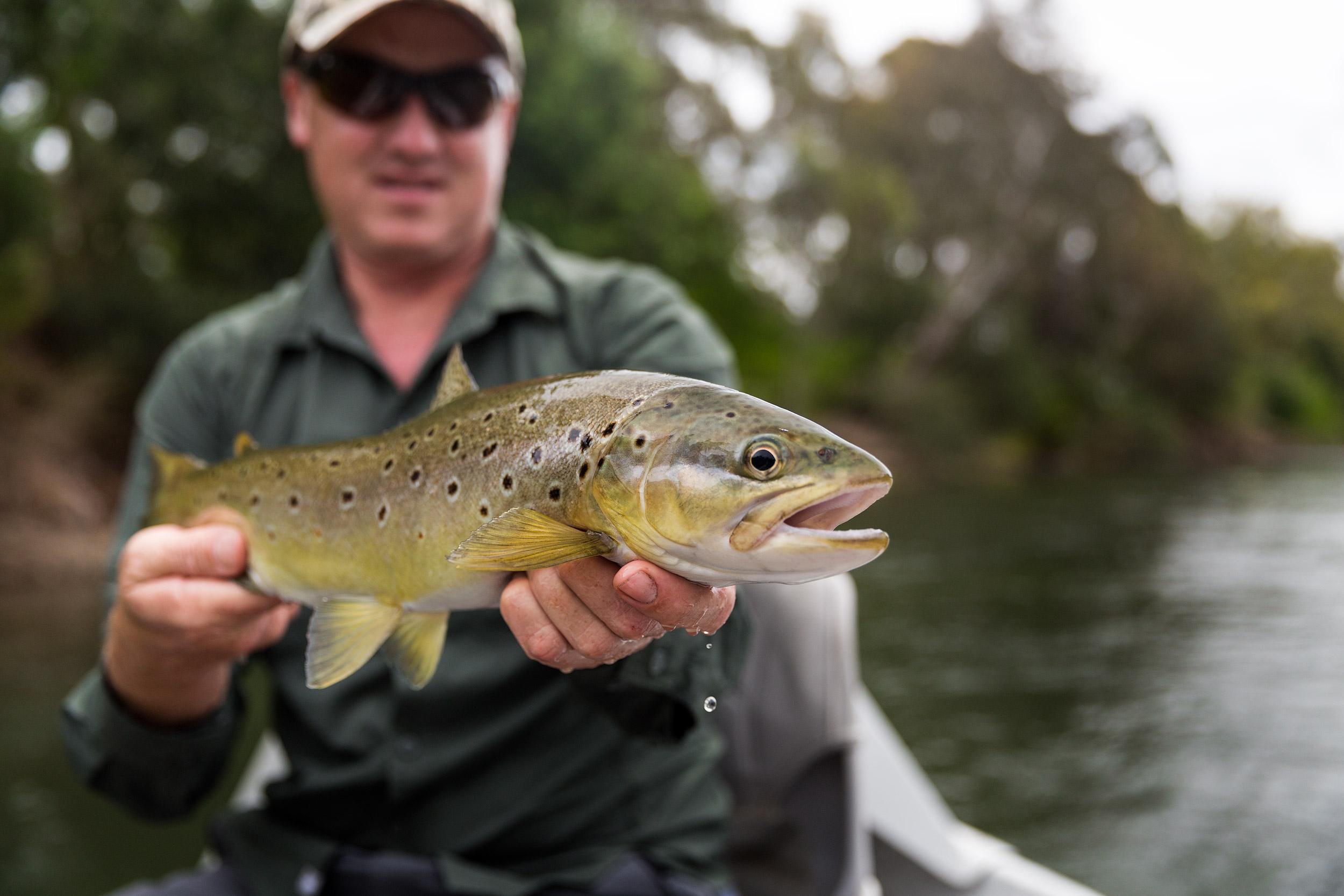 Drift boating the Goulburn River
